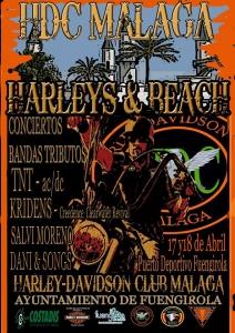 cartel fiesta hdc Malaga